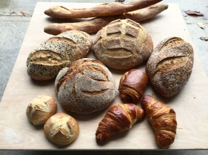 A variety of Smittybreads prior to the Oct. 28 West Lafayette Farmers Market.