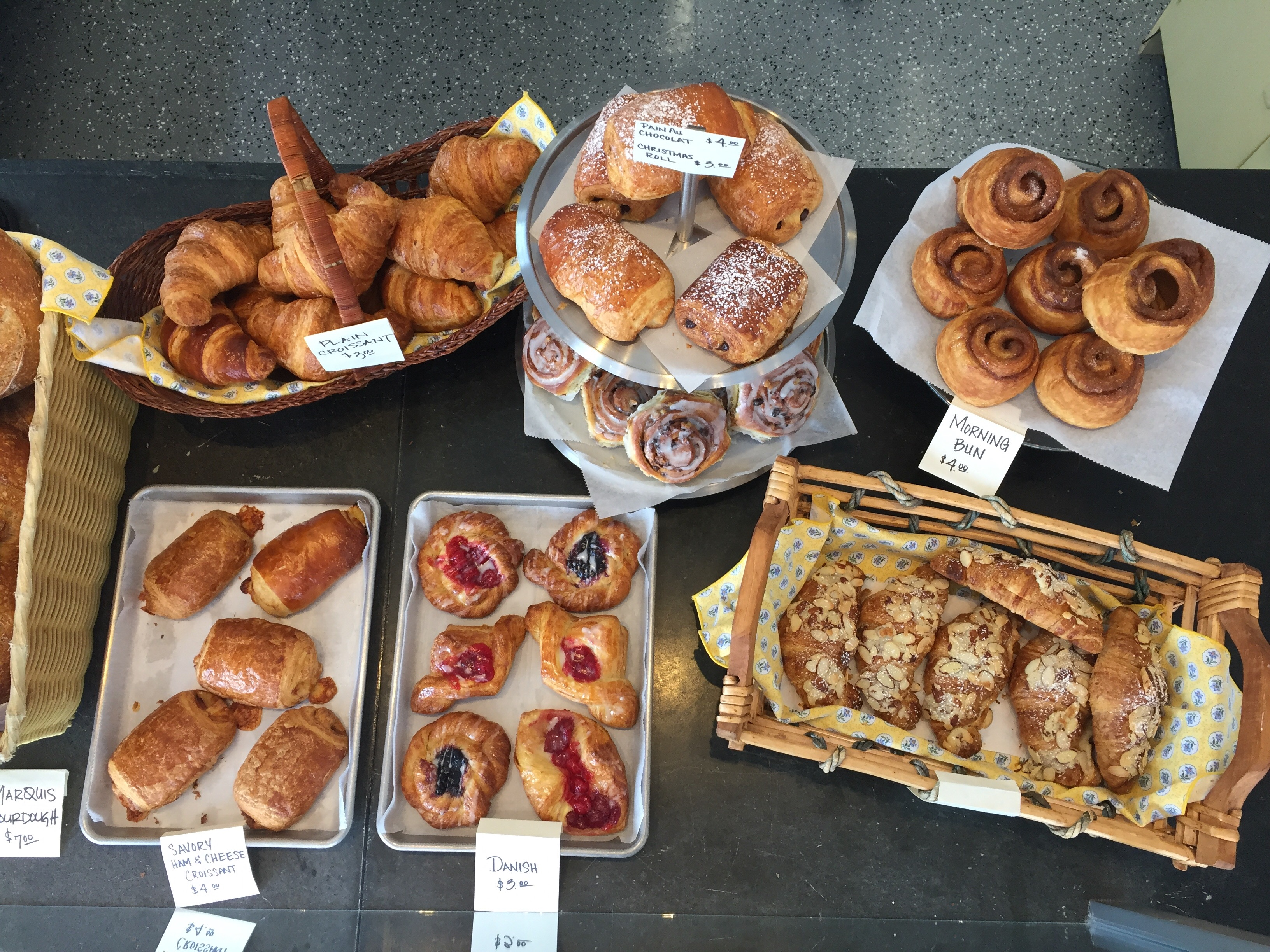 Pastry assortment