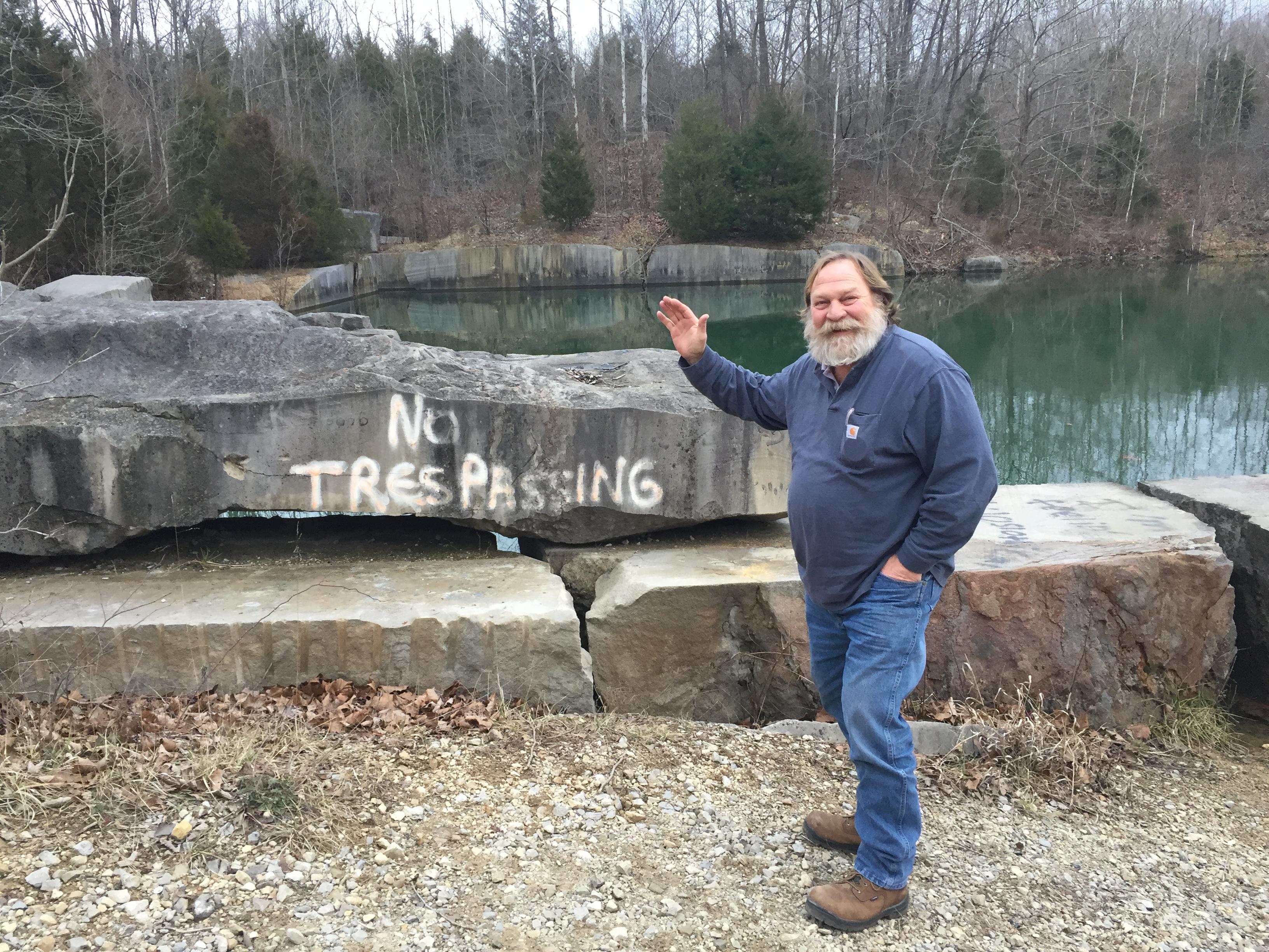 John trespassing